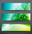 Business banner vector image