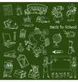 Back to School Doodles vector image