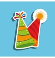 hat party design vector image