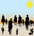 Horsemen Group vector image