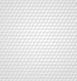 White cube retro background vector image