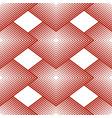 geometrical seamless pattern rhombus linear vector image