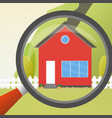 house concept for sale house flat icon design vector image