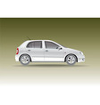 Car hatchback vector image