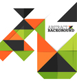 Abstract Background with Triangles Pattern vector image