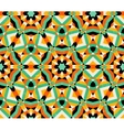 Seamless geometric traditional ornament vector image