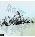 Mountain tour vector image