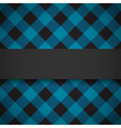 Blue tilted lumberjack plaid pattern vector image