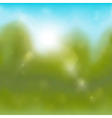 Summertime background vector image