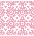 Abstract pink repeat geometrical seamless pattern vector image vector image
