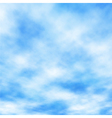 Cotton clouds vector image vector image