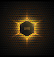 Abstract 3d dark background vector image