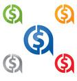 a dolar vector image