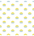 Mosque pattern cartoon style vector image