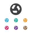 of cleanup symbol on garbage vector image