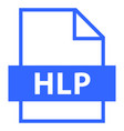 file name extension hlp type