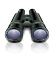 object binocular vector image vector image