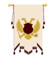 Heraldic eagle vector image