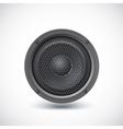 Speaker isolated vector image