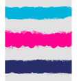 Grunge paint stain headers background stripes vector image