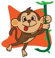 Swing Monkey vector image