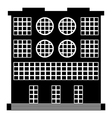 The building icon vector image
