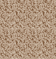 safari camouflage seamless pixel pattern vector image