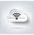 Wireless web icon vector image