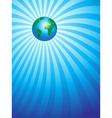 Earth Focus vector image