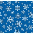 Snowflake winter pattern vector image