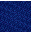 Blue vintage floral seamless pattern vector image