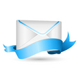 envelope with ribbon vector image