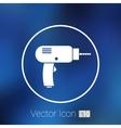 Drill icon power tool hand symbol manual vector image