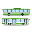 city transit shorter distance bus vector image