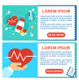 health care poster vector image