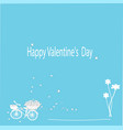 Happy Valentines Day cards vector image