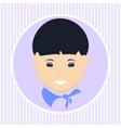 Asian boy vector image