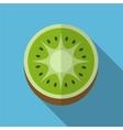 Kiwi flat icon vector image