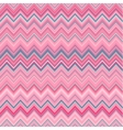 Cute zig zag stripe seamless pattern vector image
