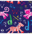 tiger and zebra vector image vector image