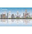 Caracas Skyline with Gray Buildings vector image