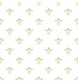 Angel pattern cartoon style vector image