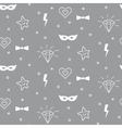 Baby pattern design Nursery kid background vector image