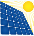 solar energy icon vector image