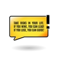 Quote template Quote bubble Print design Quote vector image