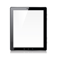 object tablet vector image