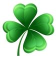 Shamrock or clover leaf vector image