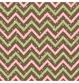 Snowy Chevron Seamless Pattern vector image