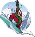 snowboarding 2011 vector image