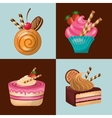 baked goods daily fresh vector image